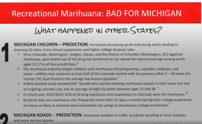 Everything Wrong With Michigan's Law Enforcement Anti-Pot Talking Points